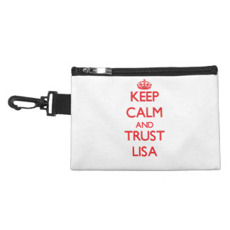 Keep Calm and TRUST Lisa Accessories Bags