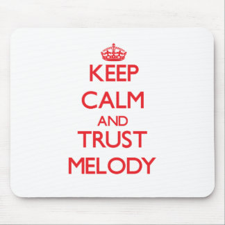 Keep Calm and TRUST Melody Mouse Pad