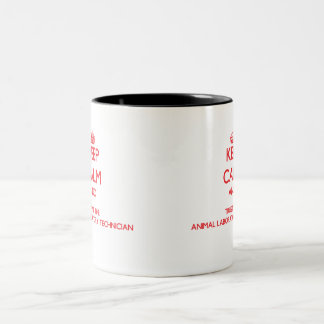 Keep Calm and Trust the Animal Laboratory Technici Mug