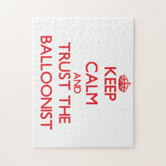 Keep Calm and Trust the Balloonist Puzzles