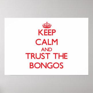 Keep calm and Trust the Bongos Print