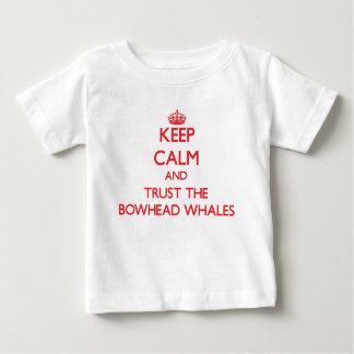 Keep calm and Trust the Bowhead Whales Shirt