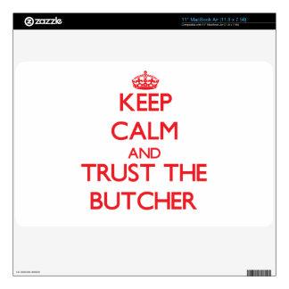 "Keep Calm and Trust the Butcher 11"" MacBook Air Skin"
