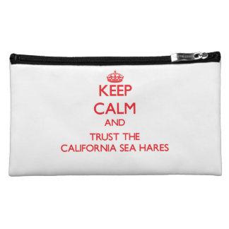 Keep calm and Trust the California Sea Hares Makeup Bag