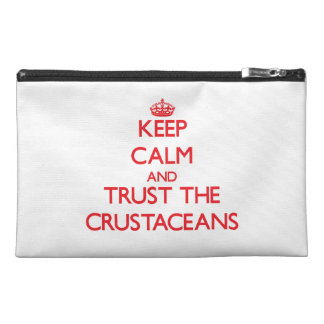 Keep calm and Trust the Crustaceans Travel Accessories Bags