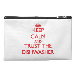 Keep Calm and Trust the Dishwasher Travel Accessory Bag