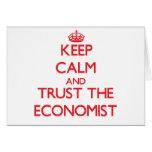 Keep Calm and Trust the Economist Card