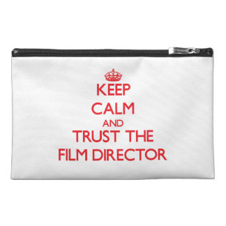 Keep Calm and Trust the Film Director Travel Accessories Bags