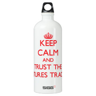 Keep Calm and Trust the Futures Trader SIGG Traveler 1.0L Water Bottle