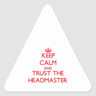 Keep Calm and Trust the Headmaster Sticker