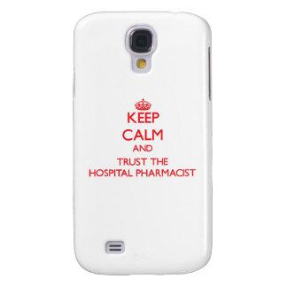 Keep Calm and Trust the Hospital Pharmacist Galaxy S4 Cases