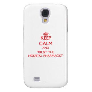 Keep Calm and Trust the Hospital Pharmacist HTC Vivid Covers