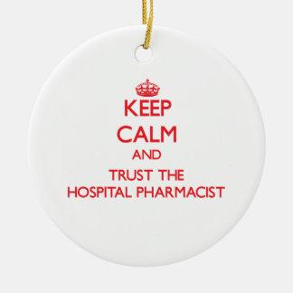 Funny Pharmacist Ornaments & Keepsake Ornaments | Zazzle