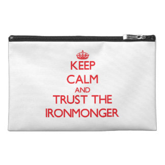 Keep Calm and Trust the Ironmonger Travel Accessories Bag