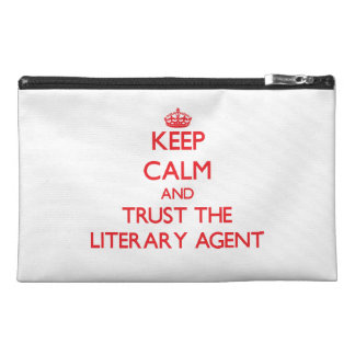 Keep Calm and Trust the Literary Agent Travel Accessories Bags