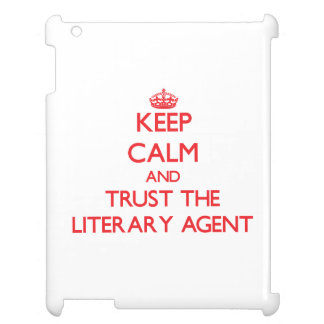 Keep Calm and Trust the Literary Agent iPad Case