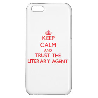 Keep Calm and Trust the Literary Agent iPhone 5C Covers