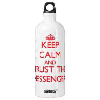 Keep Calm and Trust the Messenger SIGG Traveler 1.0L Water Bottle