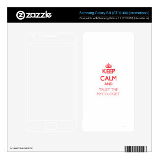 Keep Calm and Trust the Mycologist Samsung Galaxy S II Skin
