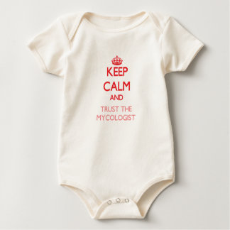 Keep Calm and Trust the Mycologist Bodysuits