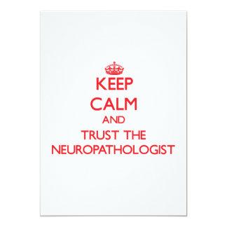 Keep Calm and Trust the Neuropathologist Card