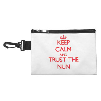 Keep Calm and Trust the Nun Accessories Bags