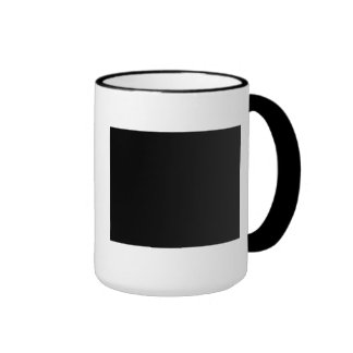 Keep calm and Trust the Ruby-Throated Hummingbirds Ringer Coffee Mug