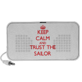 Keep Calm and Trust the Sailor iPhone Speakers