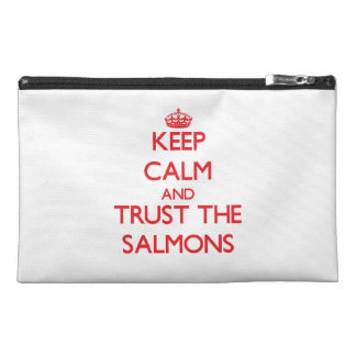 Keep calm and Trust the Salmons Travel Accessory Bags