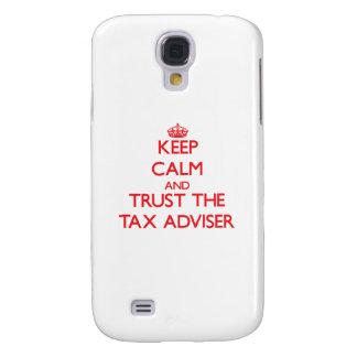 Keep Calm and Trust the Tax Adviser Galaxy S4 Case