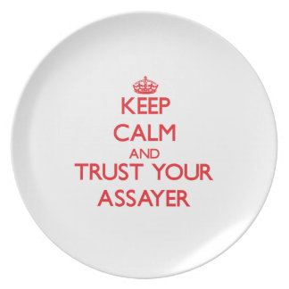 Keep Calm and Trust Your Assayer Plate