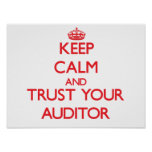 Keep Calm and Trust Your Auditor Posters