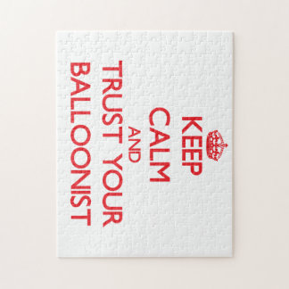 Keep Calm and Trust Your Balloonist Jigsaw Puzzle