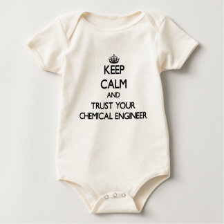 Keep Calm and Trust Your Chemical Engineer Baby Bodysuit