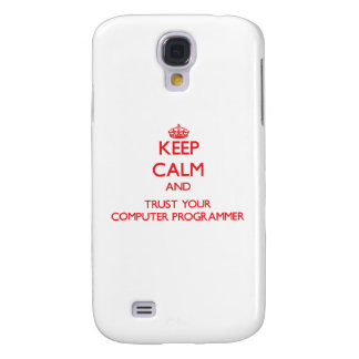 Keep Calm and trust your Computer Programmer HTC Vivid Case