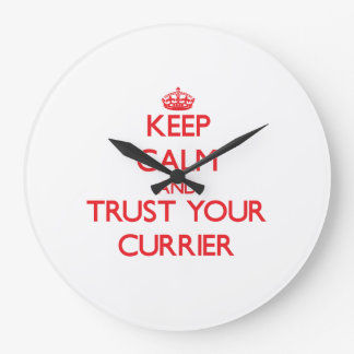 Keep Calm and Trust Your Currier Clocks