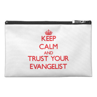 Keep Calm and trust your Evangelist Travel Accessory Bag