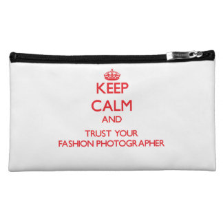 Keep Calm and trust your Fashion Photographer Makeup Bags