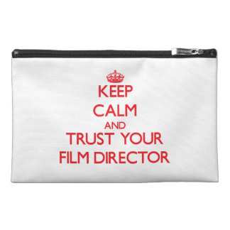 Keep Calm and trust your Film Director Travel Accessory Bag