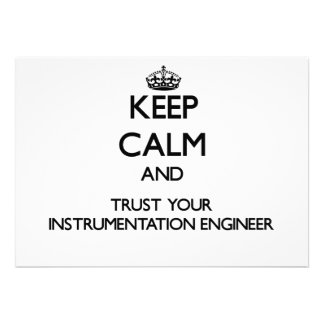 Keep Calm and Trust Your Instrumentation Engineer Personalized Invites