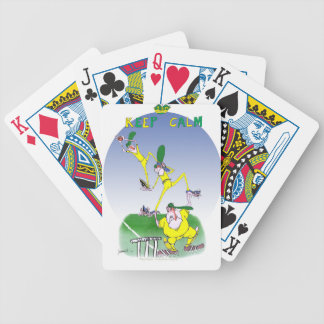 keep calm and trust your mates, tony fernandes bicycle playing cards