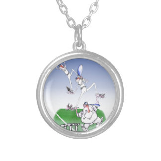 keep calm and trust your mates, tony fernandes silver plated necklace