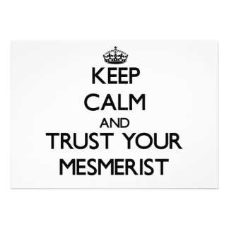 Keep Calm and Trust Your Mesmerist Invite