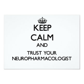 Keep Calm and Trust Your Neuropharmacologist Announcements