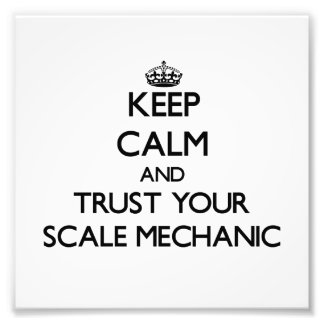 Keep Calm and Trust Your Scale Mechanic Photo