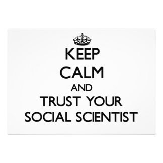 Keep Calm and Trust Your Social Scientist Personalized Invitations