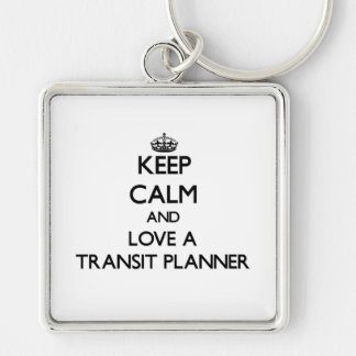 Keep calm and trust your Transit Planner Keychain