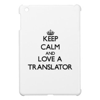 Keep calm and trust your Translator iPad Mini Covers