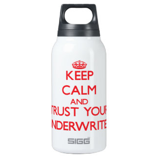Keep Calm and Trust Your Underwriter SIGG Thermo 0.3L Insulated Bottle