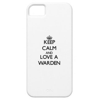 Keep calm and trust your Warden iPhone 5 Cases